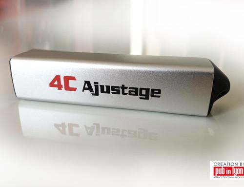 4C Ajustage – Batterie Externe personnalisé