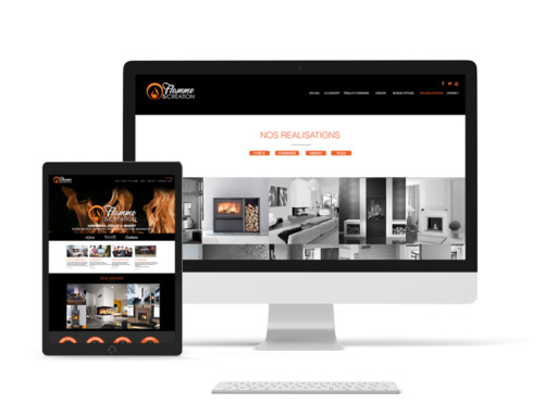 Flamme & Création Création site web