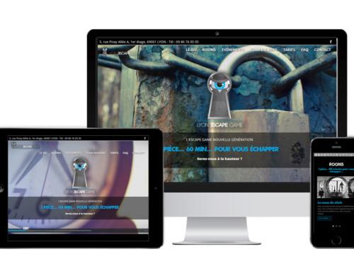 Lyon Escape Game Création site web