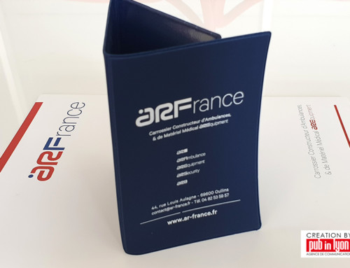 ARFrance Porte carte grise personnalisé